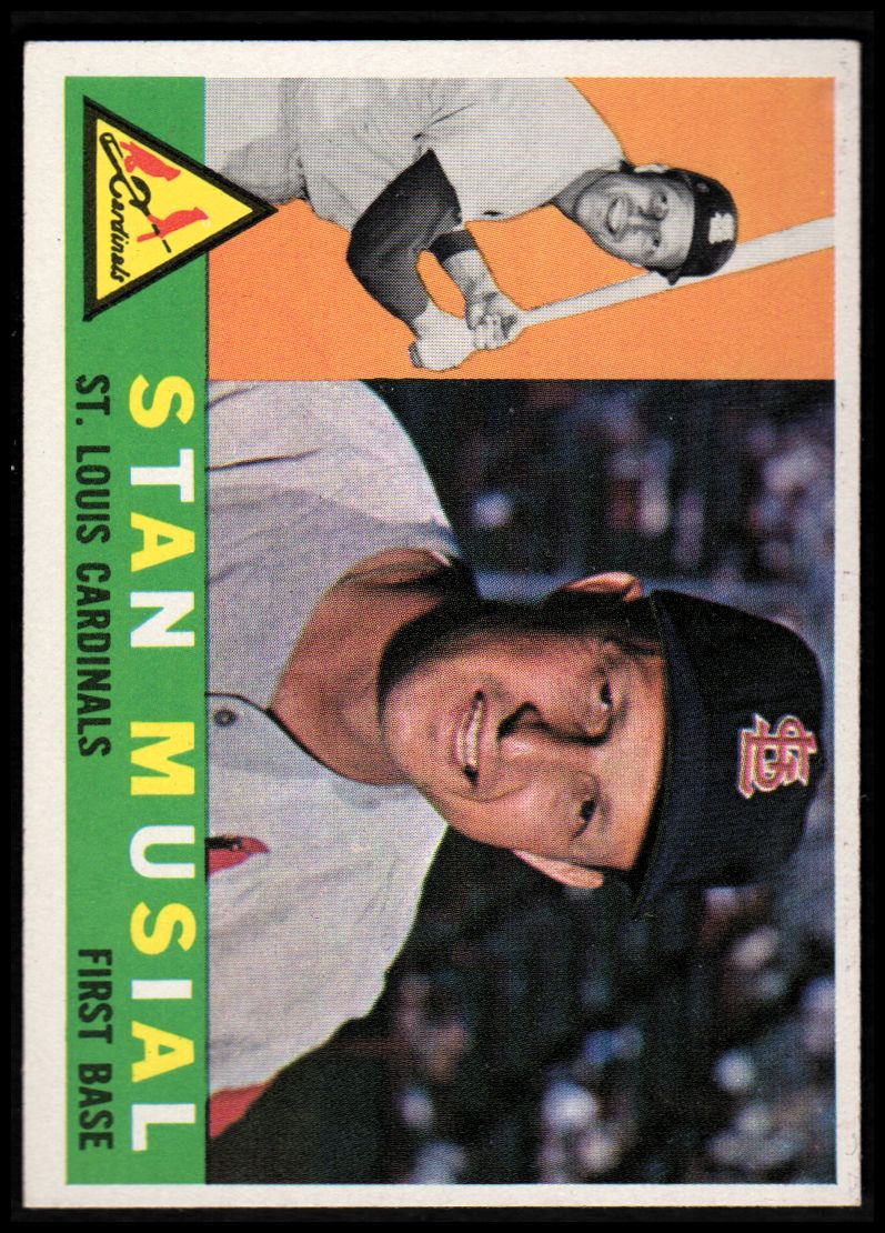 1960 Topps #250 Stan Musial