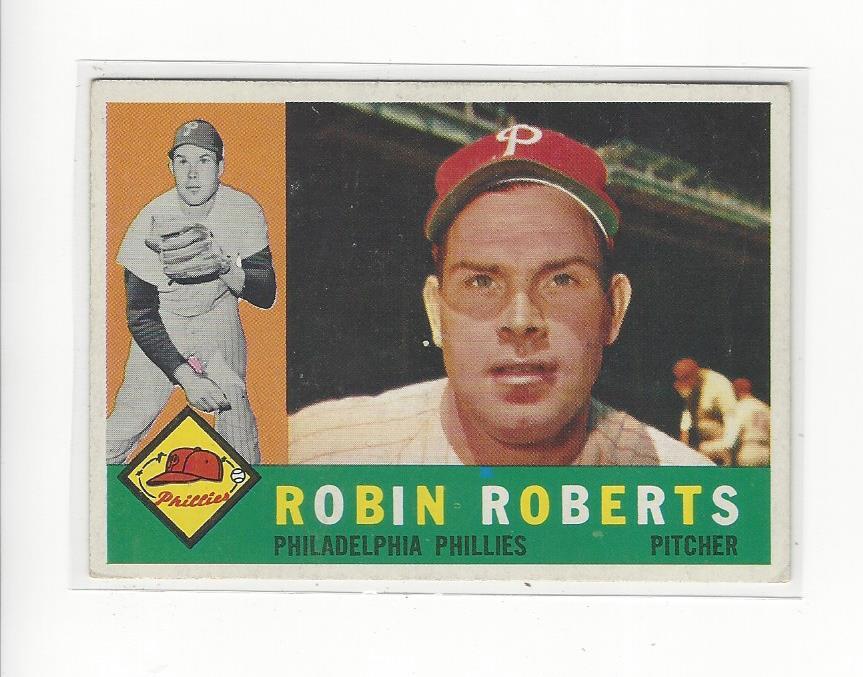 1960 Topps #264 Robin Roberts