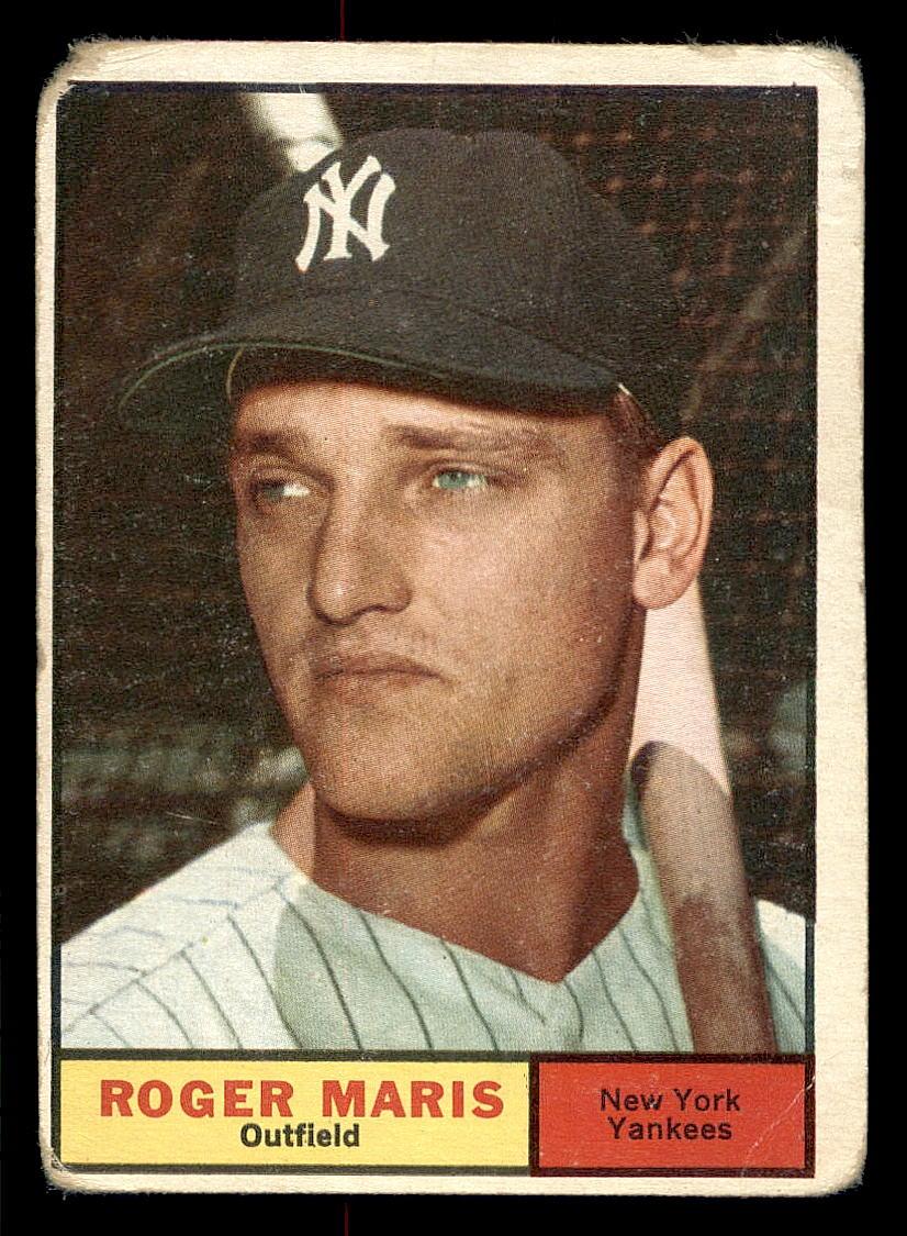 1961 Topps #2 Roger Maris
