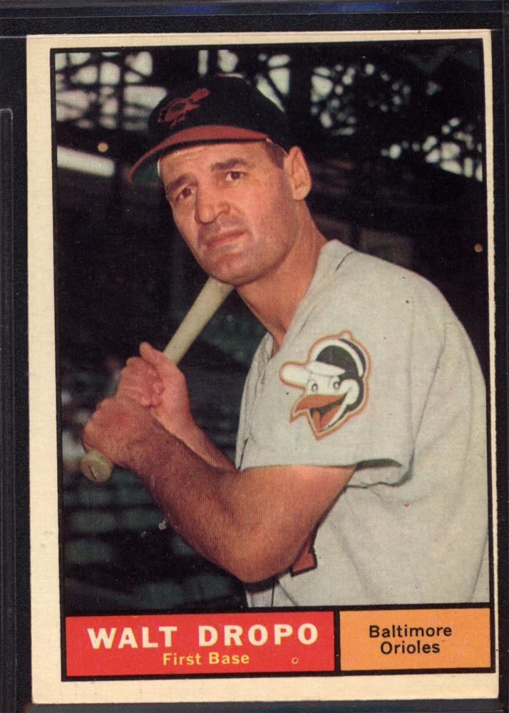 1961 Topps #489 Walt Dropo