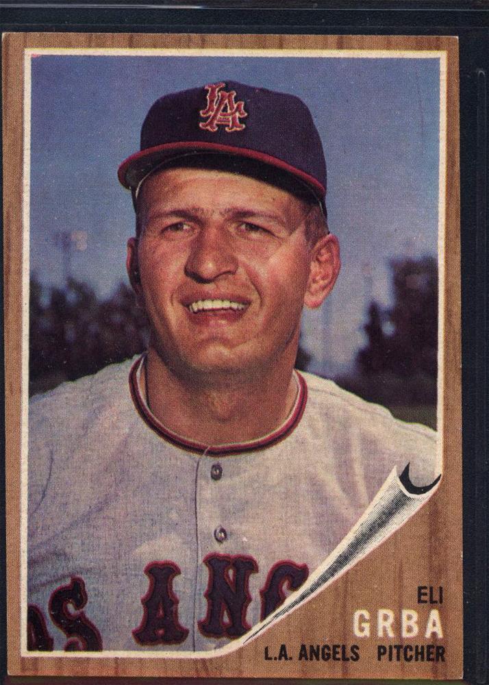 1962 Topps #96 Eli Grba