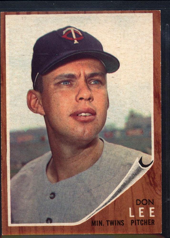 1962 Topps #166 Don Lee