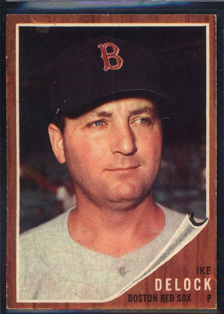 1962 Topps #201 Ike Delock