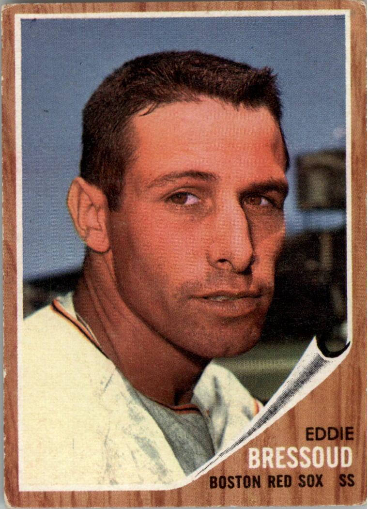 1962 Topps #504 Eddie Bressoud