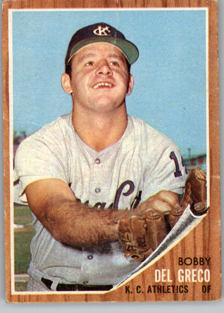1962 Topps #548 Bobby Del Greco