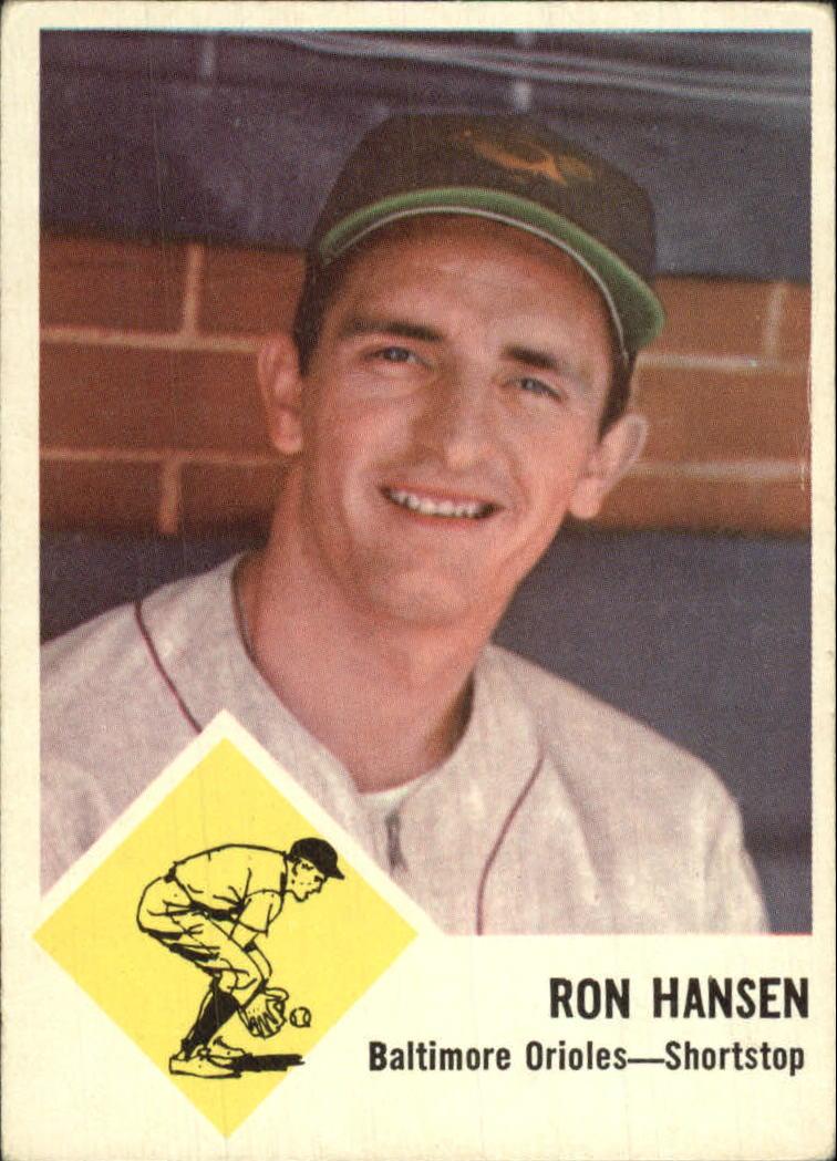 1963 Fleer #2 Ron Hansen