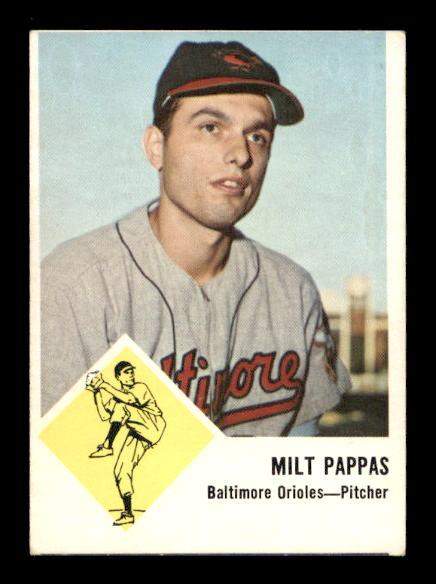 1963 Fleer #3 Milt Pappas