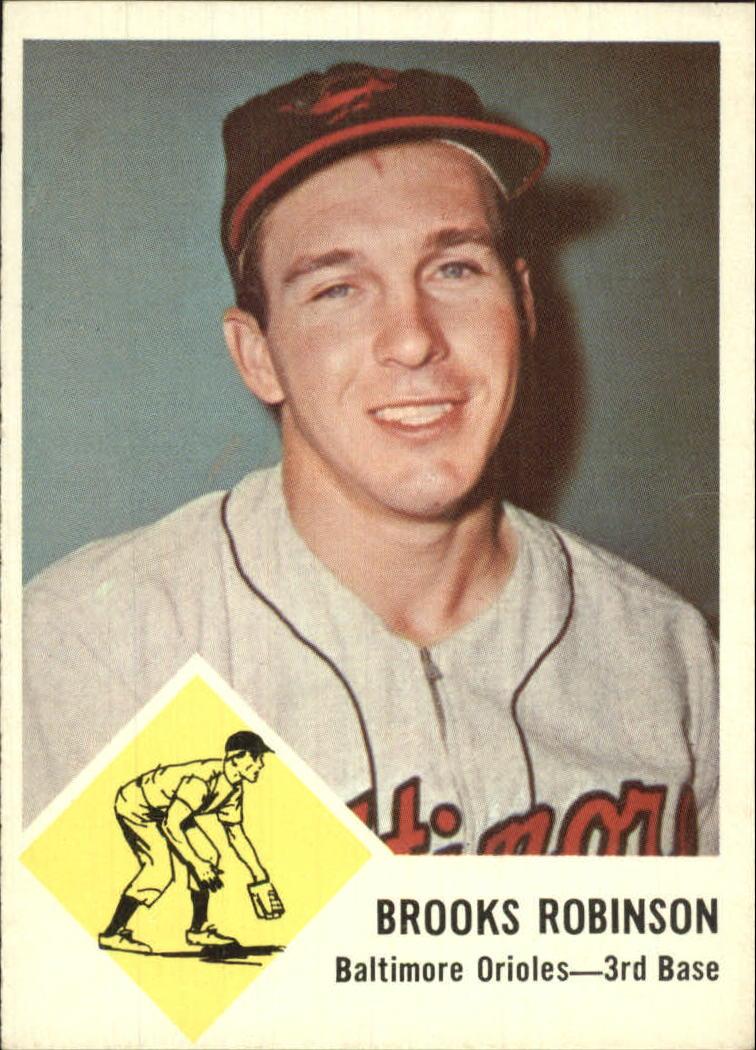 1963 Fleer #4 Brooks Robinson