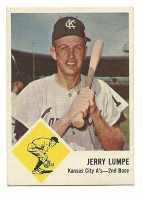 1963 Fleer #16 Jerry Lumpe