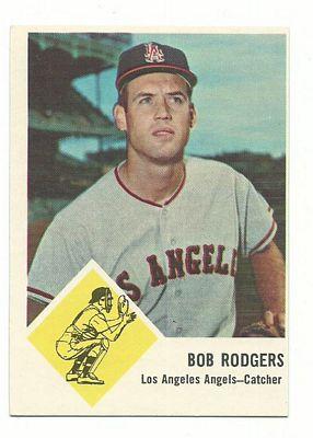 1963 Fleer #20 Bob Rodgers