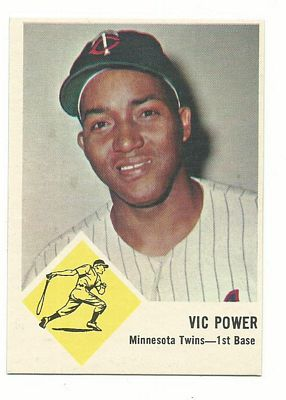 1963 Fleer #23 Vic Power