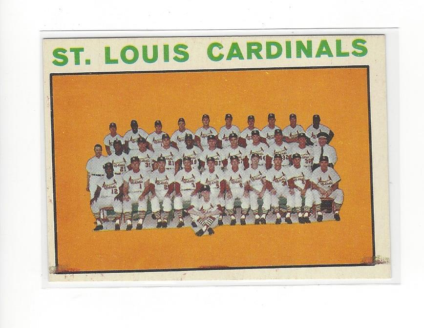 1964 Topps #87 St. Louis Cardinals TC