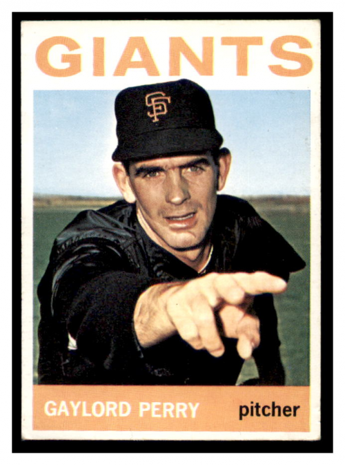 1964 Topps #468 Gaylord Perry