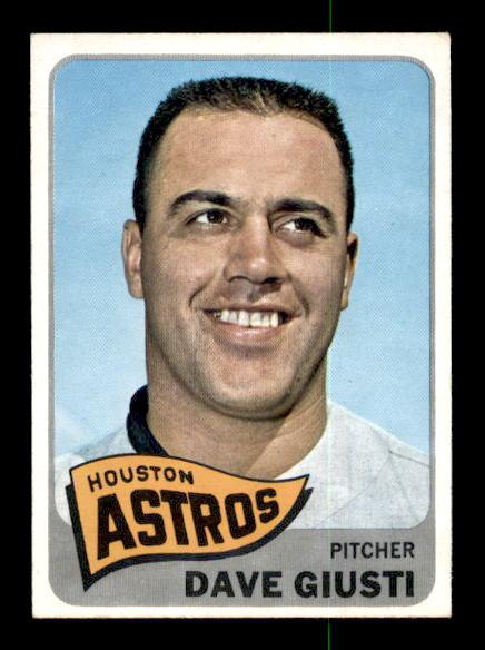 1965 Topps #524 Dave Giusti SP