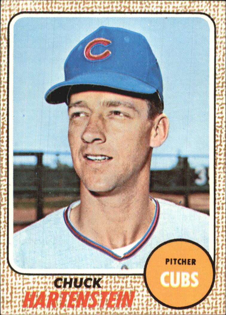 1968 Topps #13 Chuck Hartenstein RC