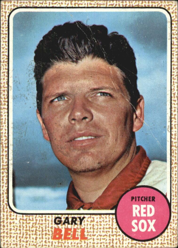 1968 Topps #43 Gary Bell