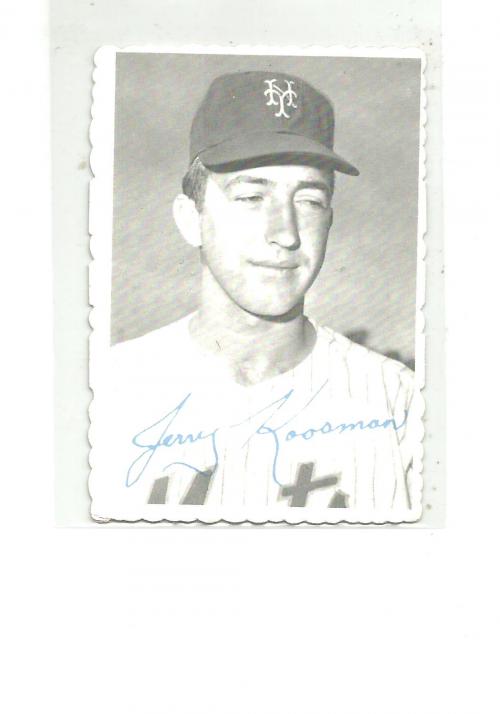 1969 Topps Deckle Edge #25 Jerry Koosman