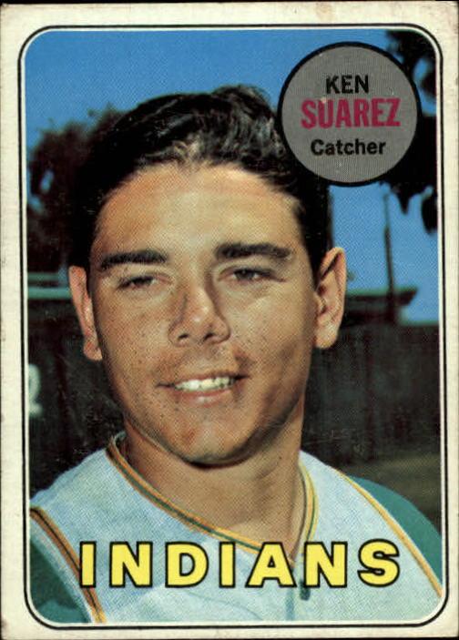 1969 Topps #19 Ken Suarez