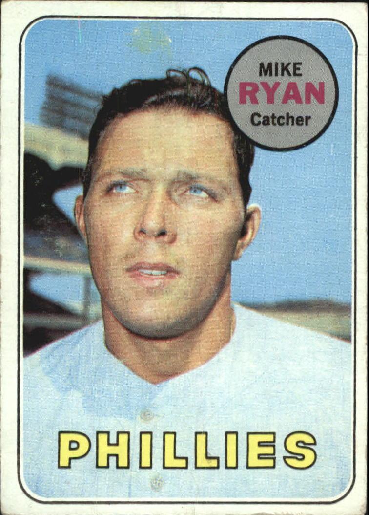 1969 Topps #28 Mike Ryan