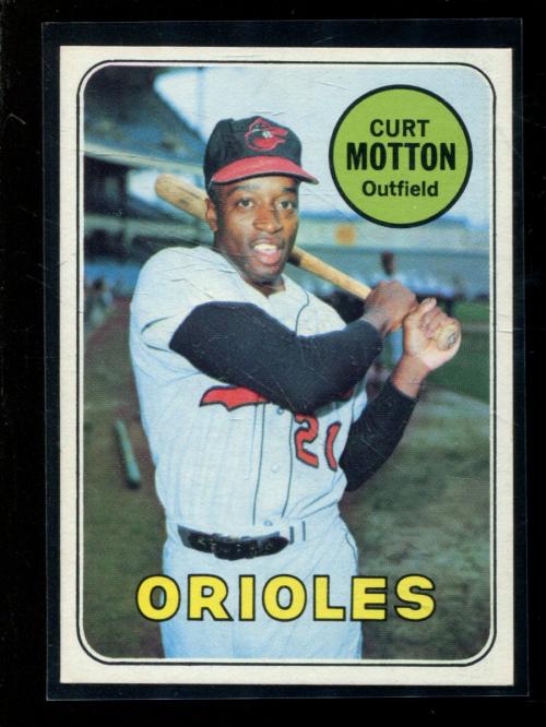 1969 Topps #37 Curt Motton
