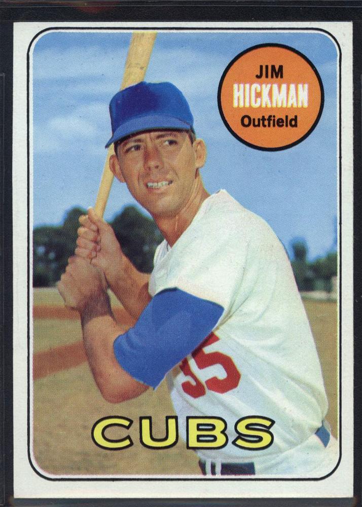1969 Topps #63 Jim Hickman