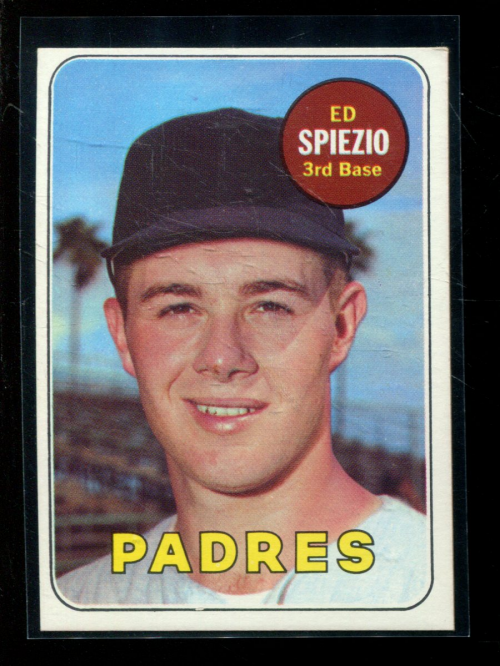 1969 Topps #249 Ed Spiezio