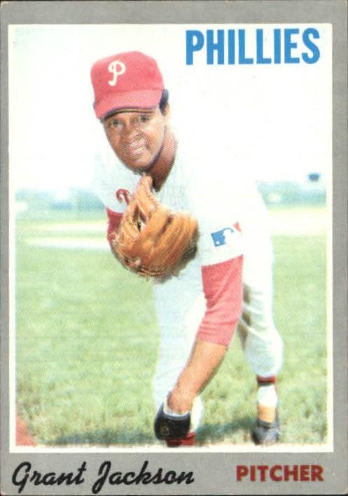 1970 Topps #6 Grant Jackson