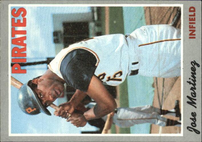 1970 Topps #8 Jose Martinez RC