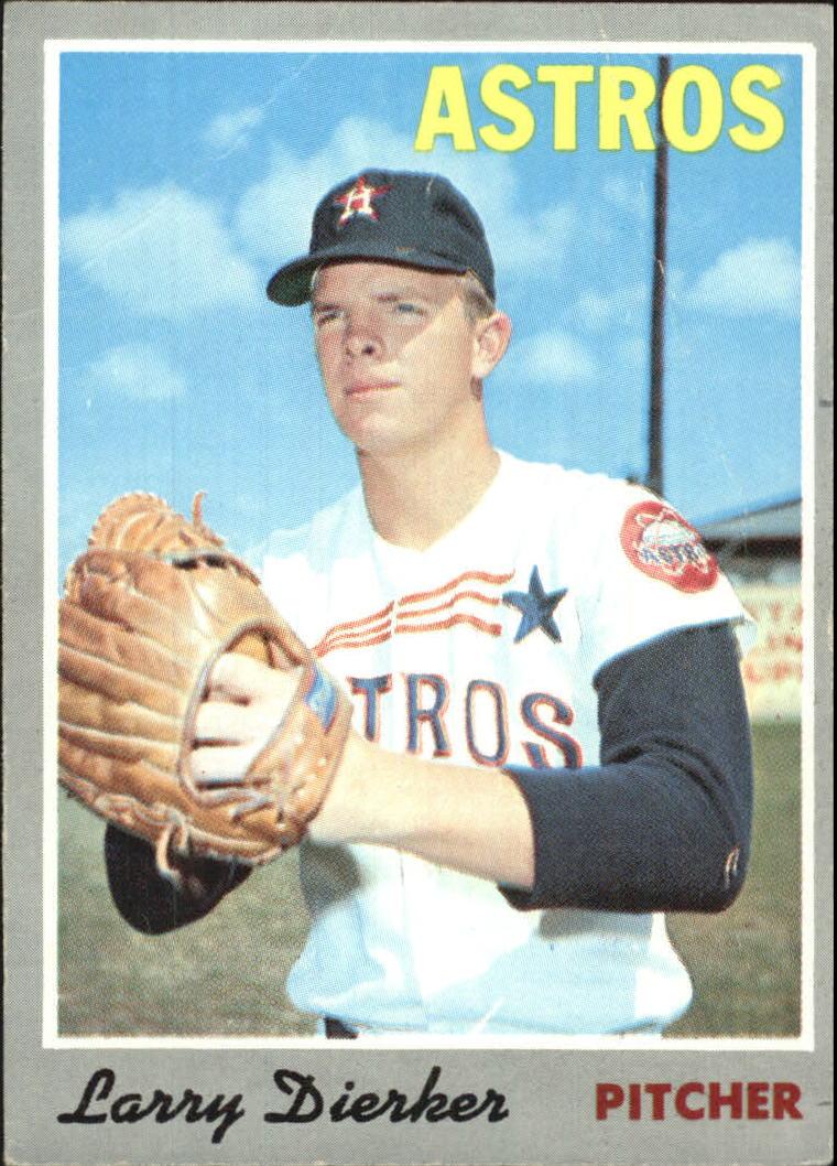 1970 Topps #15 Larry Dierker