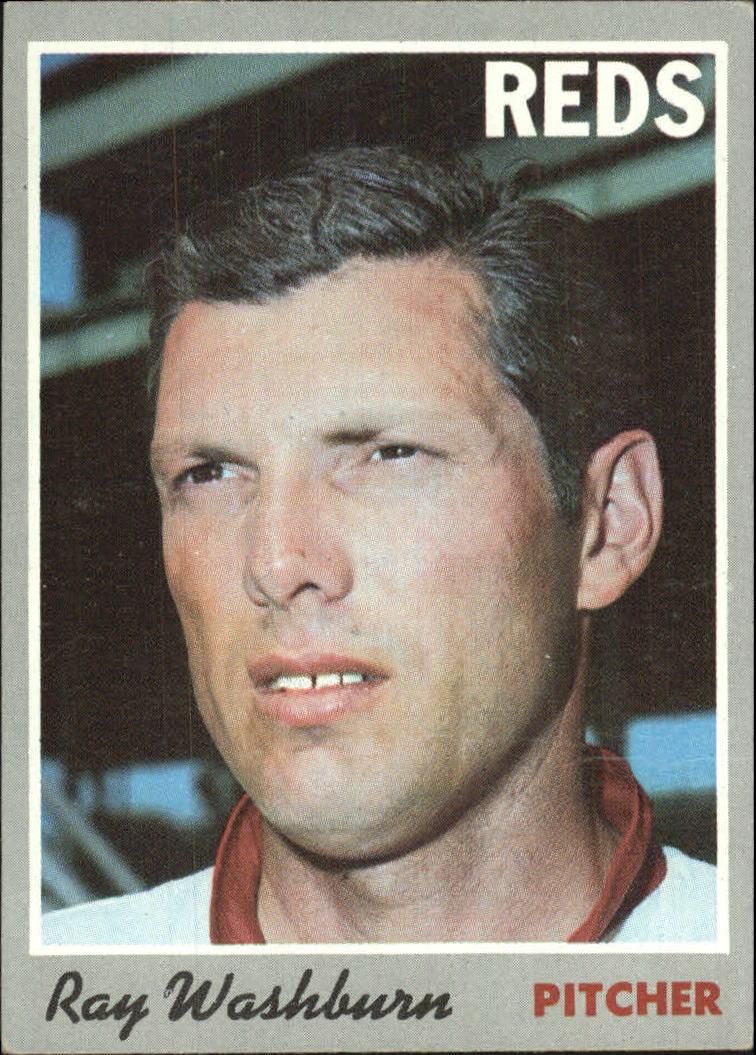 1970 Topps #22 Ray Washburn