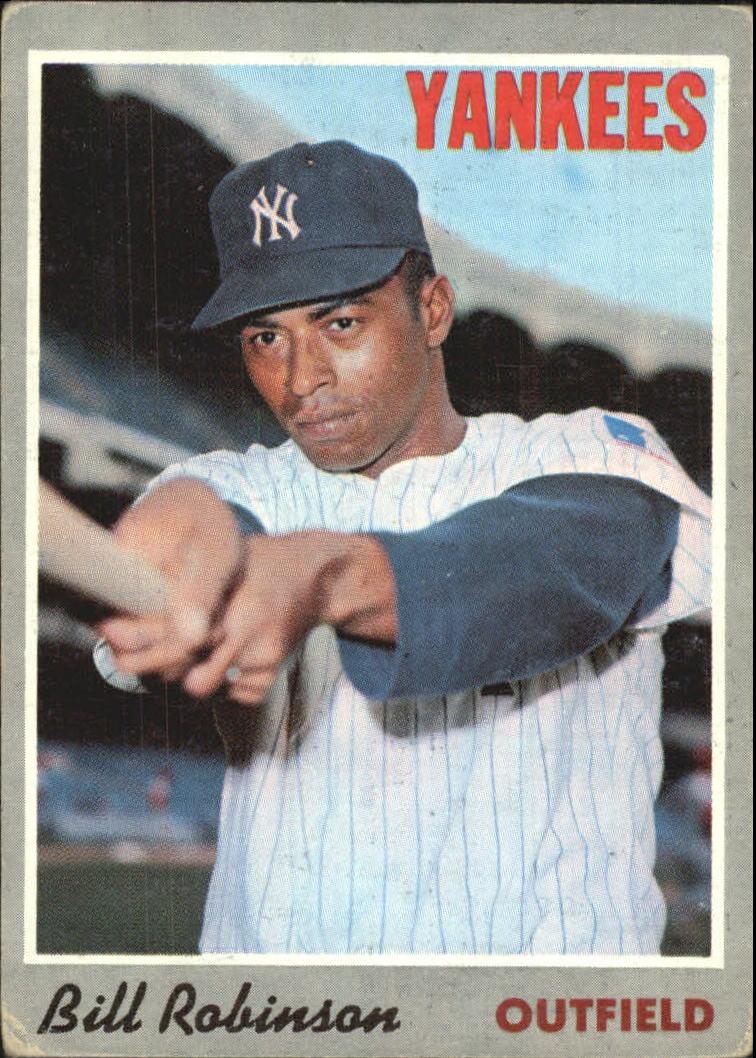 1970 Topps #23 Bill Robinson