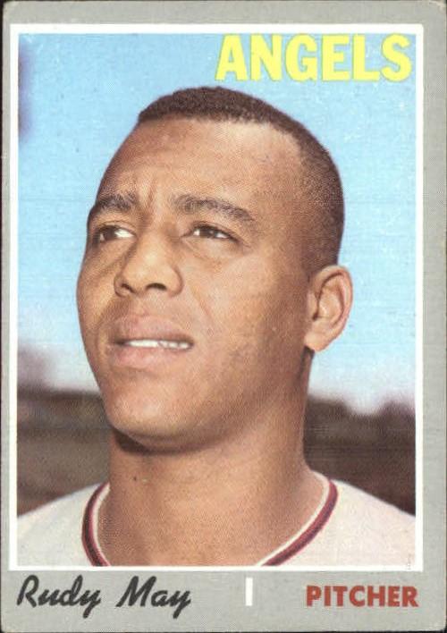 1970 Topps #203 Rudy May