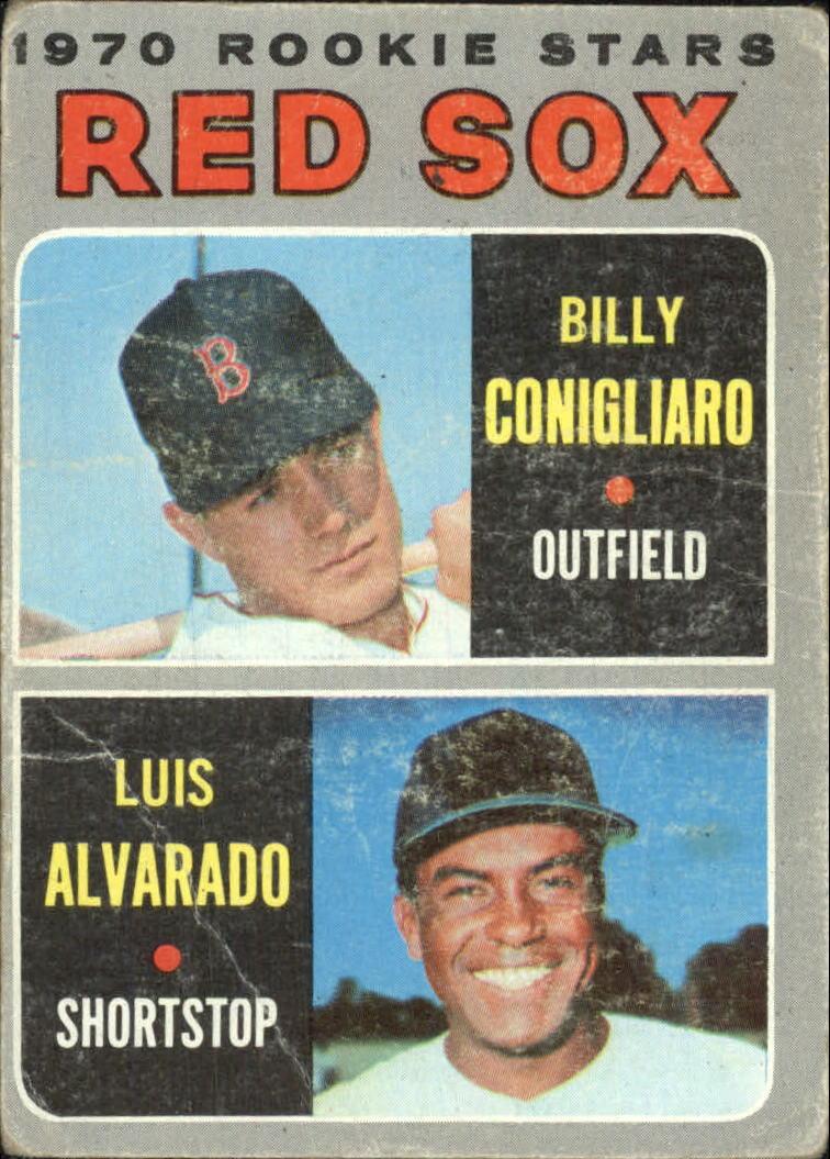 1970 Topps #317 Rookie Stars/Billy Conigliaro/Luis Alvarado RC