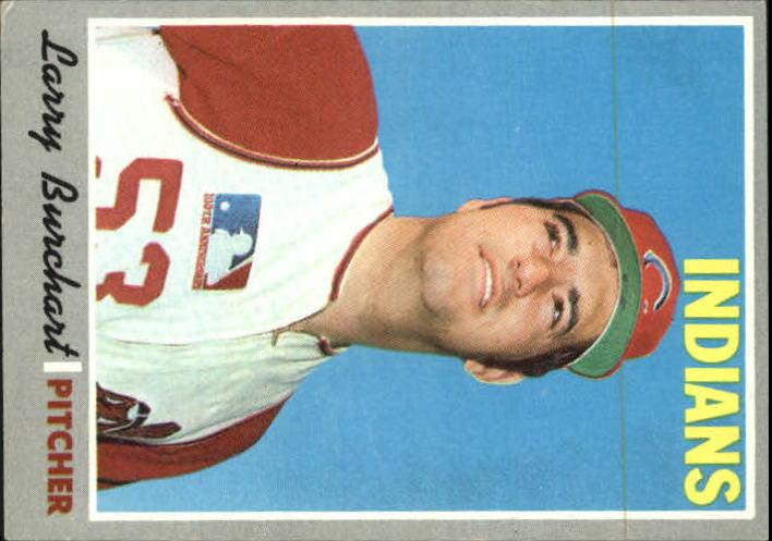 1970 Topps #412 Larry Burchart