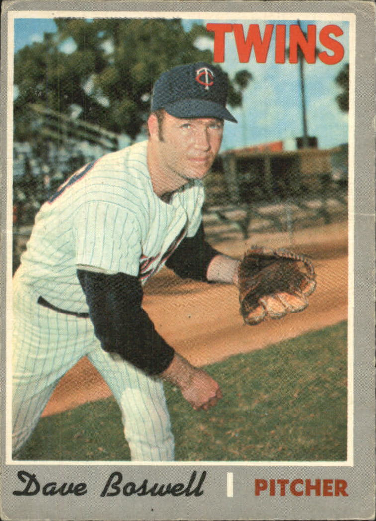 1970 O-Pee-Chee #325 Dave Boswell