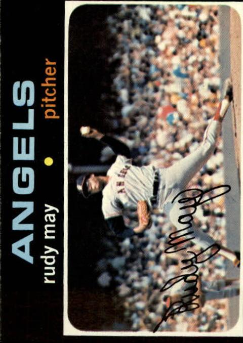 1971 Topps #318 Rudy May