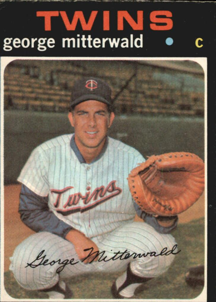 1971 O-Pee-Chee #189 George Mitterwald