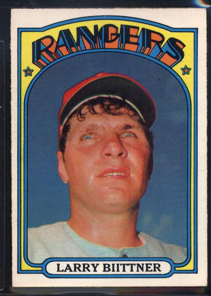 1972 O-Pee-Chee #122 Larry Biittner
