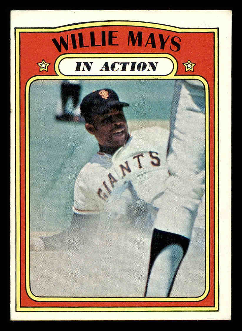 1972 Topps #50 Willie Mays IA