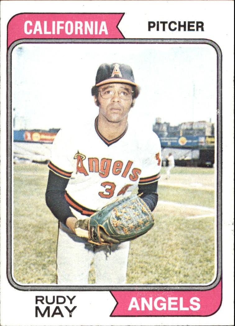 1974 Topps #302 Rudy May