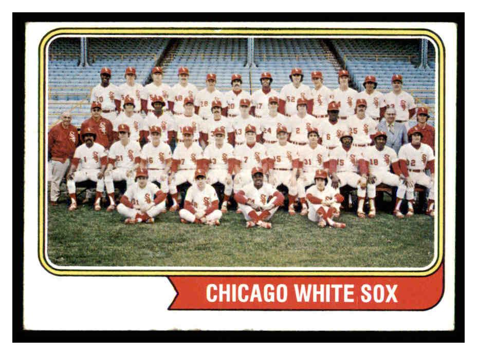 1974 Topps #416 Chicago White Sox TC