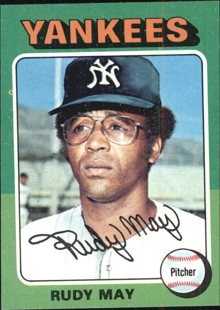 1975 Topps #321 Rudy May