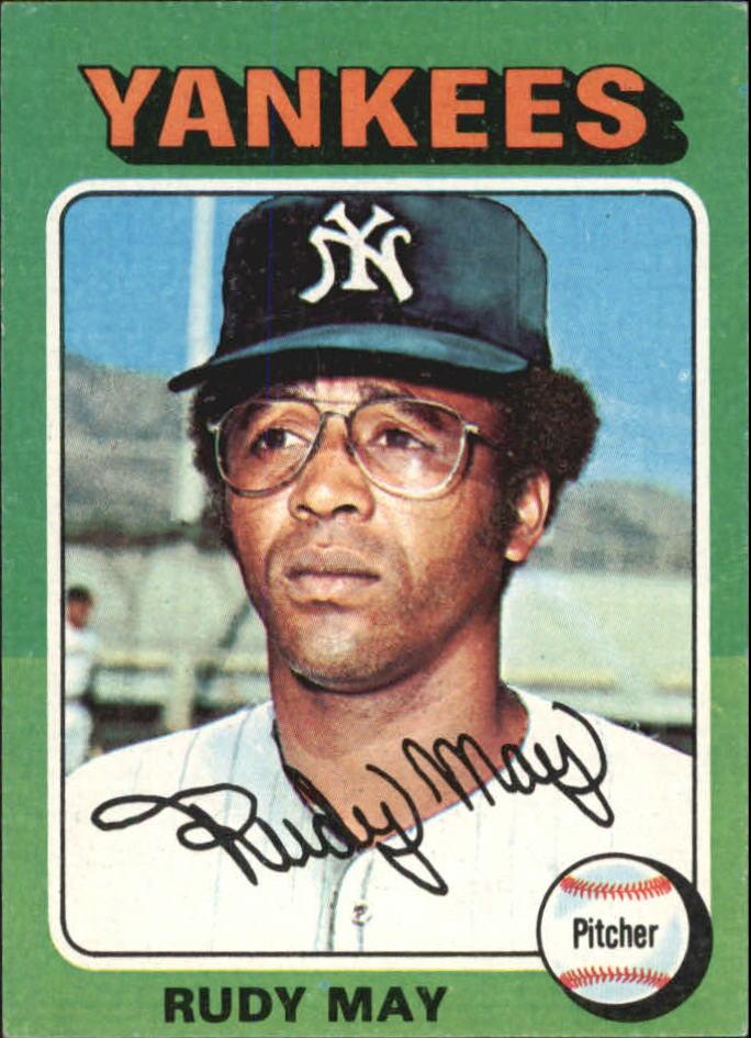 1975 Topps Mini #321 Rudy May