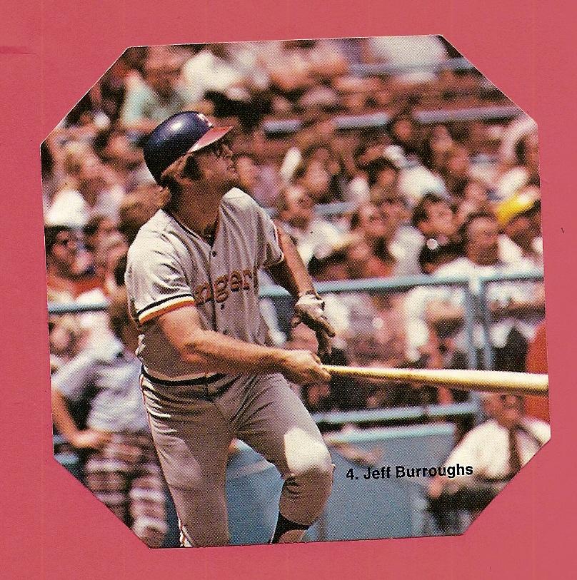 1976 Sportstix #4 Jeff Burroughs