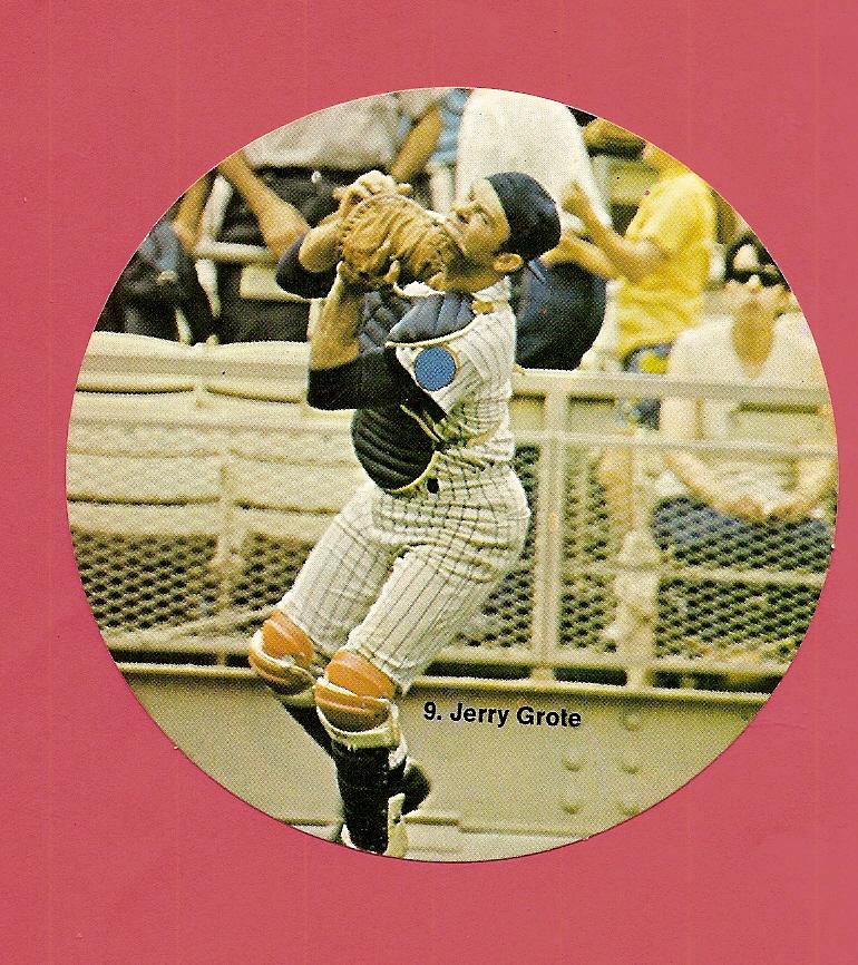 1976 Sportstix #9 Jerry Grote