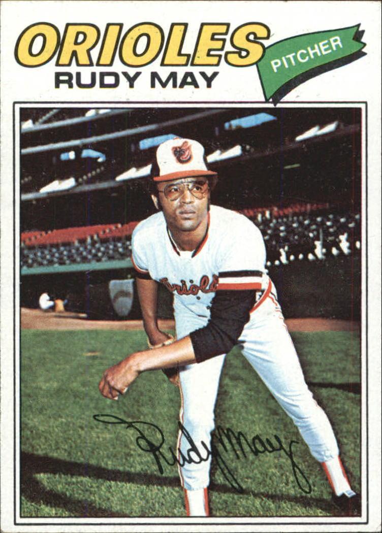 1977 Topps #56 Rudy May