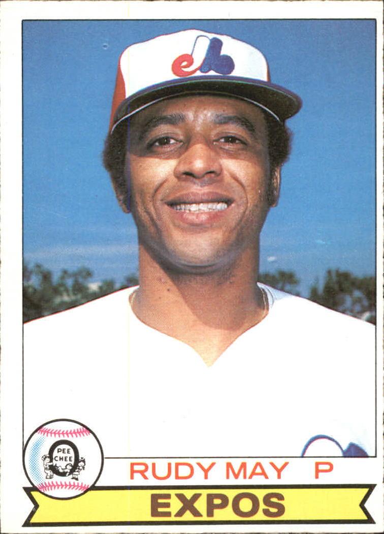 1979 O-Pee-Chee #318 Rudy May