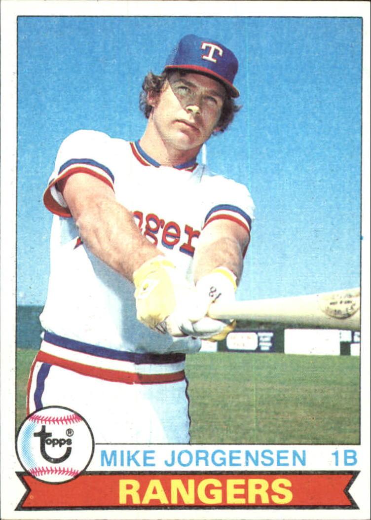 1979 Topps #22 Mike Jorgensen