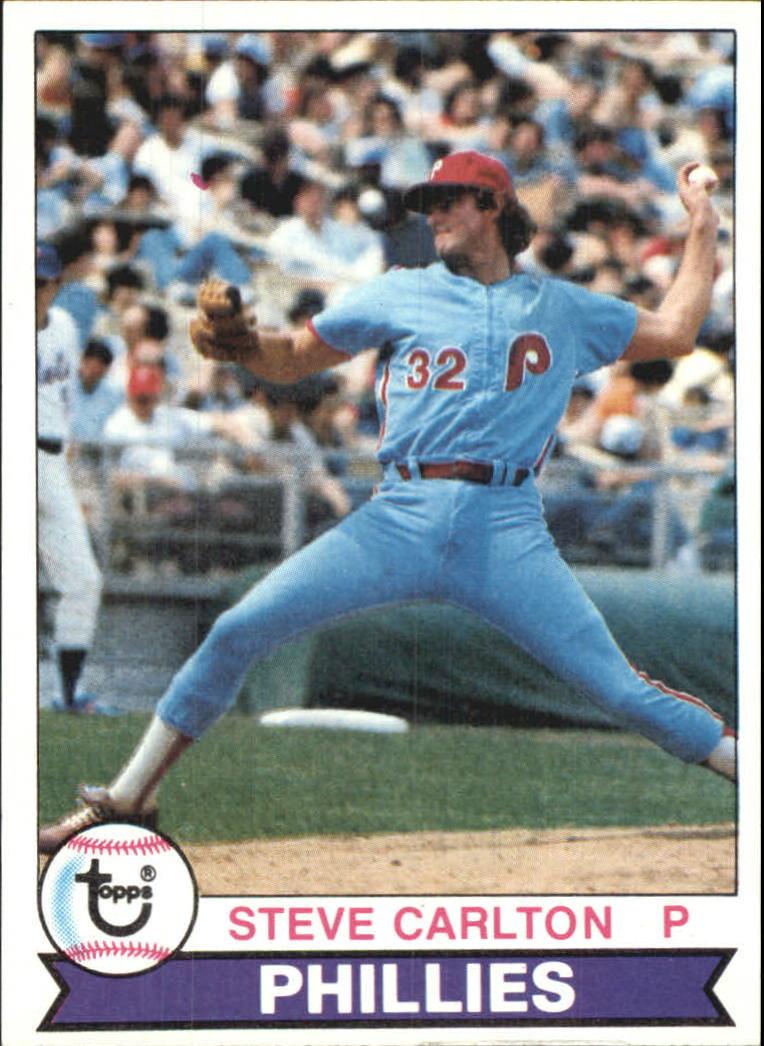 1979 Topps #25 Steve Carlton