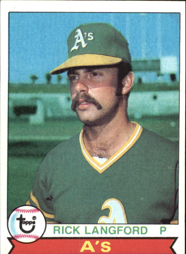 1979 Topps #29 Rick Langford